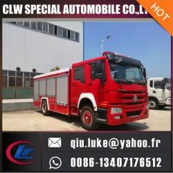 Airport Fire Truc 4*2 Powder Fire Truck