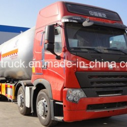 China Good Quality 35cbm 15mt HOWO 8X4 LPG Gas Delivery Tank Truck
