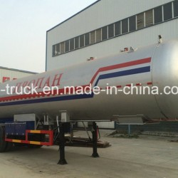 New Chinese Maker 40.5m3 2axles 17mt LPG Semitrailer