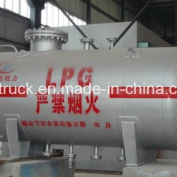 China Make GB150 ASME Horizontal 5ton 12m3 LPG Tank 12000 Liters Gas