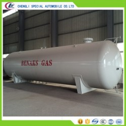 GB150 ASME Horizontal 10mt 25cbm LPG Tank Liquid Propane Gas Tanker