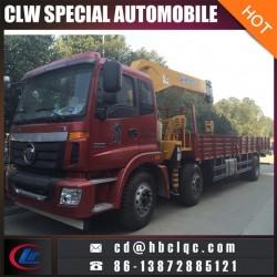 Foton Auman 6X2 8ton Crane Truck