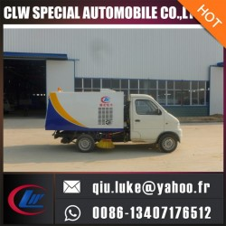 Small Vacuum Truck Mounted Road Sweeper