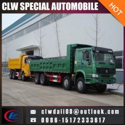 LHD Rhd 8*4 Heavy Duty Tipper Dump Truck for Hot Sale