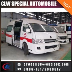 Emergency Car Ambulance Truck Hospital Patient Transport Car