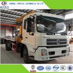 China Manufacture 6ton Road Flatbed Wrecker Truck