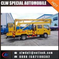 China Best 4X2 High Platform Work Truck Overhead Working Truck