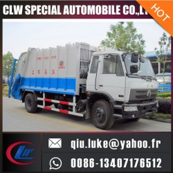 Factory Sale Hook Lift Side Loading Garbage Compactor Truck