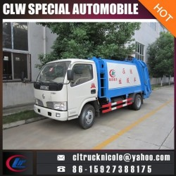 4cbm Compressed Rubbish Vehicle for Garbage Truck