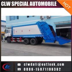 5cbm Dongfeng Hydraulic Automatic Loading Euro 4 Barrel Turning Garb