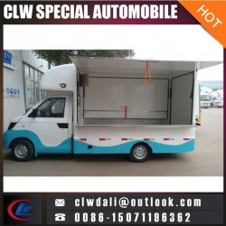 4*2 Small Electric Mobile Food Car for Sale/Vending Food Truck