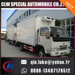 Dongfeng 4X2 95HP 5-10 Tons Refrigerated Van Freezer Truck for Sale