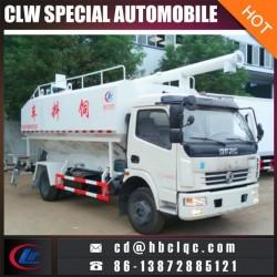 4X2 6ton Bulk Truck Grain Transportation 12m3 Feed Truck