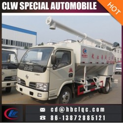 Factory Sales 10m3 Fodder Delivery Truck Poultry Feed Bulk Transportation Truck