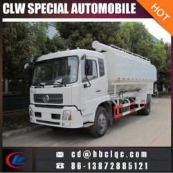 Dongfeng 10mt 20m3 hydraulic Fodder Transportation Tank Truck