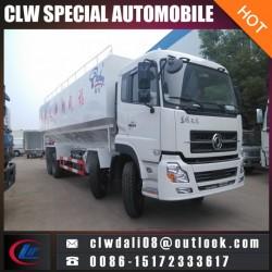 Dongfeng 8*4 Bulk Feed Tranfer Truck, 30tons Bulk Feed Truck From China