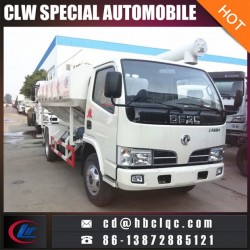 Dongfeng 5ton Poultry Feed Bulk Transportation Truck Fodder Delivery Truck