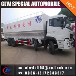 8*4 Bulk Feed Tank Truck, 40cbm Heavy Duty Bulk Feed Truck for Sale