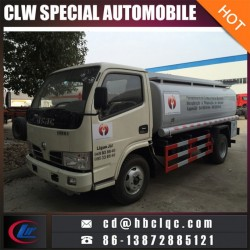 Manufacture Dongfeng 4mt Gasoline Tank Truck Oil Truck