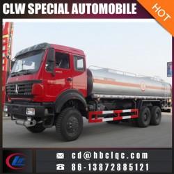 Manufacture Northbenz 6X6 20m3 Gasoline Tank Truck Oil Truck Tanker