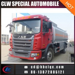 China Make JAC 12m3 15m3 Diesel dispenser Tank Truck Fuel Tank Truck