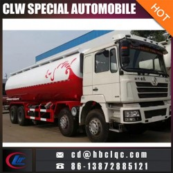 China Shacman 48mt Cement Transportation Truck Bulk Powder Silos Tru