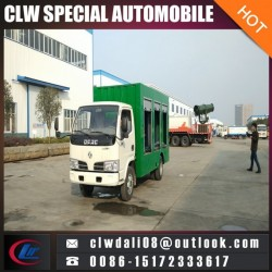 4*2 Dongfeng Sewage Treatment Truck, Fecal Suction Truck with Cheap