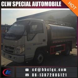 Mini 4000L 5000L Ss Milk Tanker Milk Truck Tank