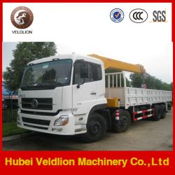 8*4 LHD Drive 12 Ton Truck with Crane