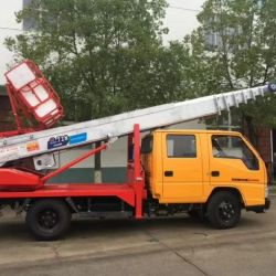 Dongfeng 6*4 Heavy Duty 16 Tons Truck Mounted with Folding Arm Crane Truck