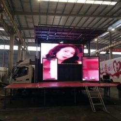 4X2 Right Hand Drive Export to Philipine Advertising Stage Tru