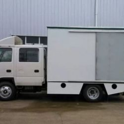 Foton LED Mobile Stage Advertising Truck Mobile Hydraulic Stag