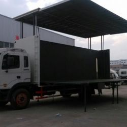 Foton 4X2 P8 Screen Mobile LED Display Truck LED Mobile Stage