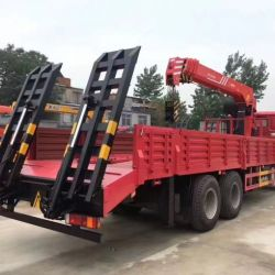 HOWO LHD 8X4 20 Tons Payload Low Bed Truck Low Bed Truck