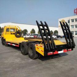 8X4 Tractor Head Excavator Transport 25 Tons Low Bed Truck Asphalt P