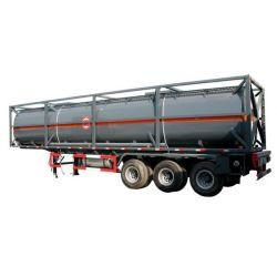 40 Ton Chemical Liquid Transport Tanker Semi Trailer