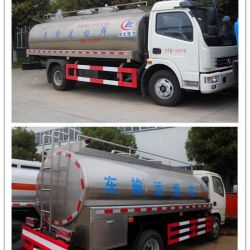 Dongfeng LHD Rhd Stainless Steel Milk Transporting Truck