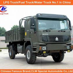 Sinotruk HOWO 4X4 All Wheel Drive Cargo Truck for Desert