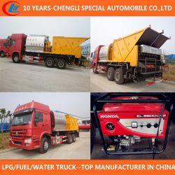 Asphalt Distribution Truck 6X4 Asphalt Synchronous Paving Truck
