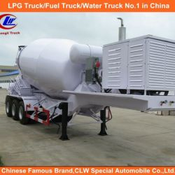 Heavy Duty 3 Axle 16cubic Meter Cement Mixer Truck Trailer