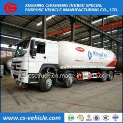 Sinotruk HOWO 8X4 12 Wheel 20m3 - 35.5m3 18t LPG Tank Truck
