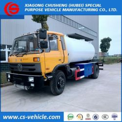 Dongfeng 4X2 5tons 10m3 Mobile Dispenser LPG Gas Tank Truck