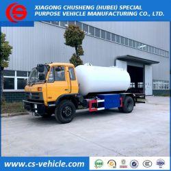 Dongfeng 4X2 10cbm LPG Tank Truck / 5t Mobile LPG Cylinder Fil