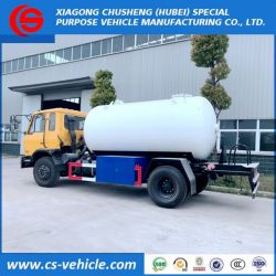 Dongfeng 8m3 - 10cbm LPG Gas Tank Truck, LPG Gas Filling Truck