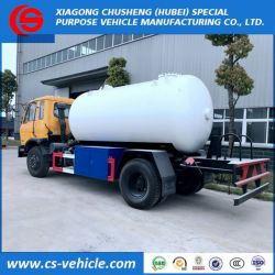 Dongfeng 4X2 10m3 LPG Gas Dispensing Delivery Truck 10000litre
