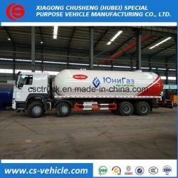 Sinotruk 8X4 35500L 35.5m3 LPG Transport Truck LPG Tank