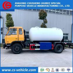 Dongfeng 4X2 10000L LPG Bobtail 10m3 5 Tons LPG Filling Tank T