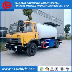 Dongfeng 10000L Small LPG Gas Tank Trucks with Refilling Syste