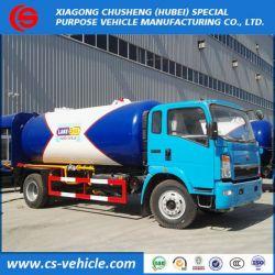 Sinotruk HOWO 4*2 10m3 10000L 12000L LPG Bobtail 5ton 6t LPG Tank Tr