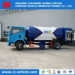 High Quality 12000liters 6 Metric Tons LPG Bobtail Dispensing Truck for Nigeria Market